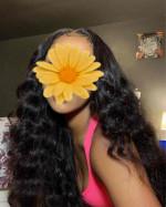 I'm really enjoying my loose deep wave hair