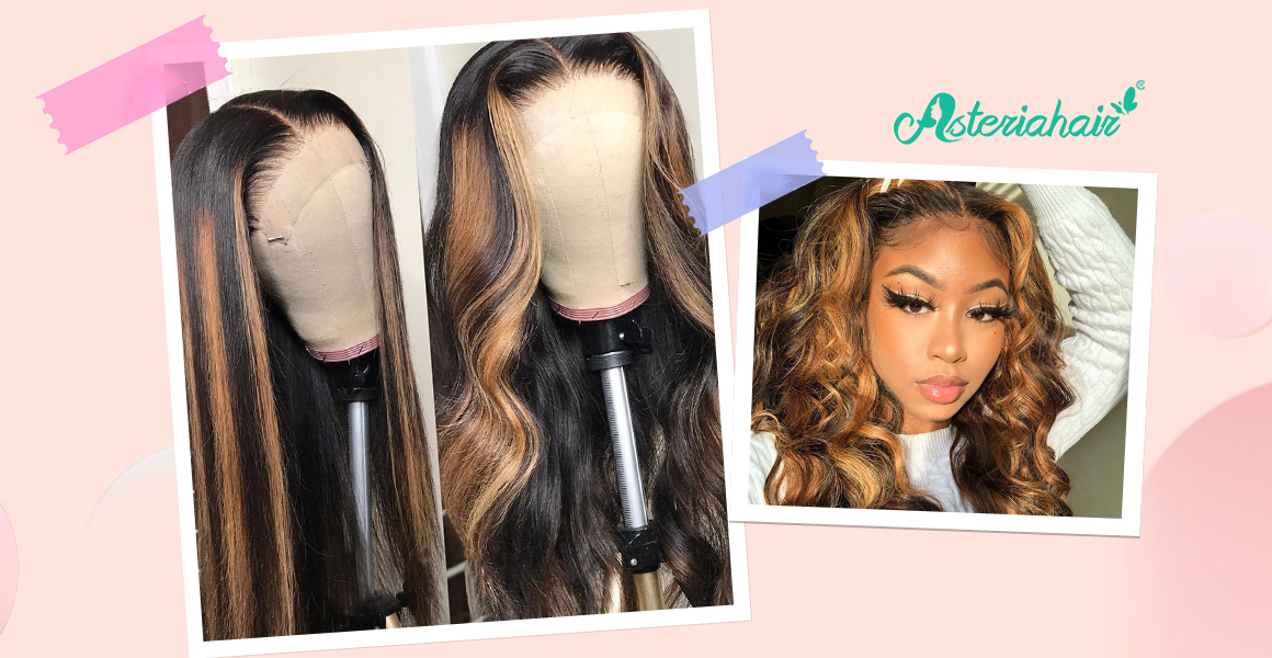100% Unprocessed Human Hair Lace Front Wigs