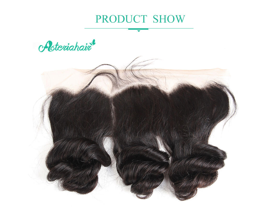 loose wave fronal