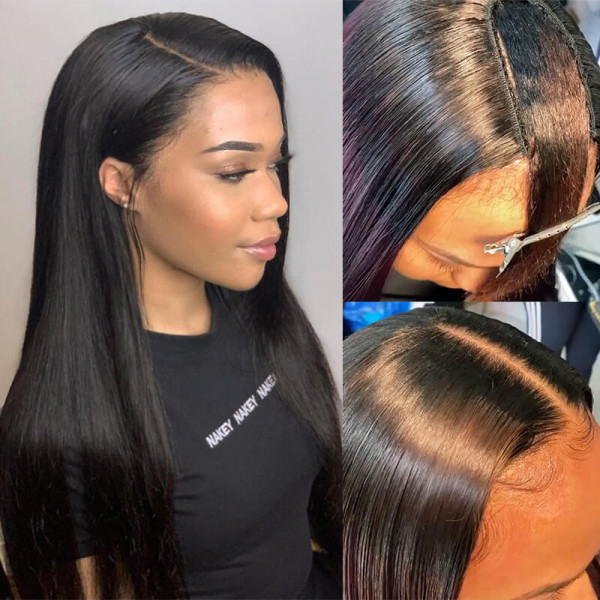 Asteria Hair Provide U part Lace Front Wig In Stock Now