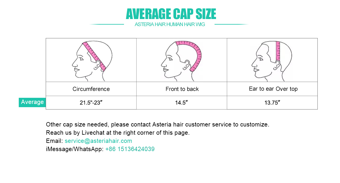 what is average wig