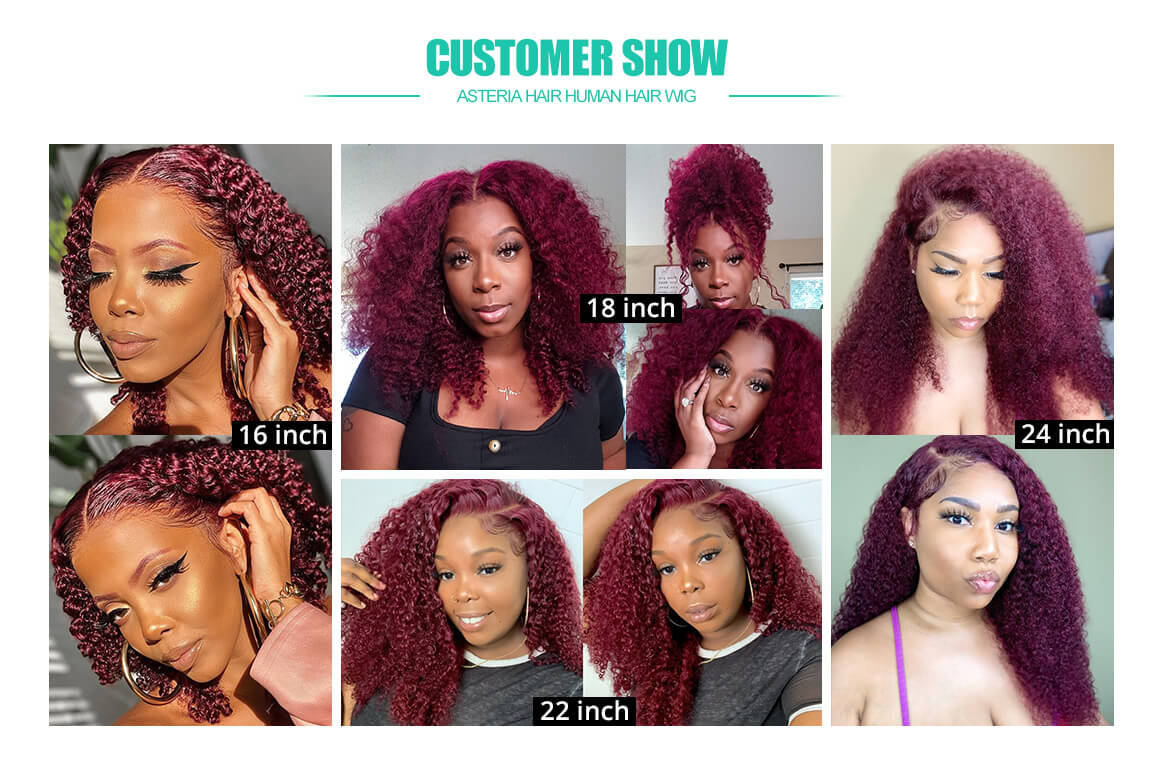99j curly lace front wigs