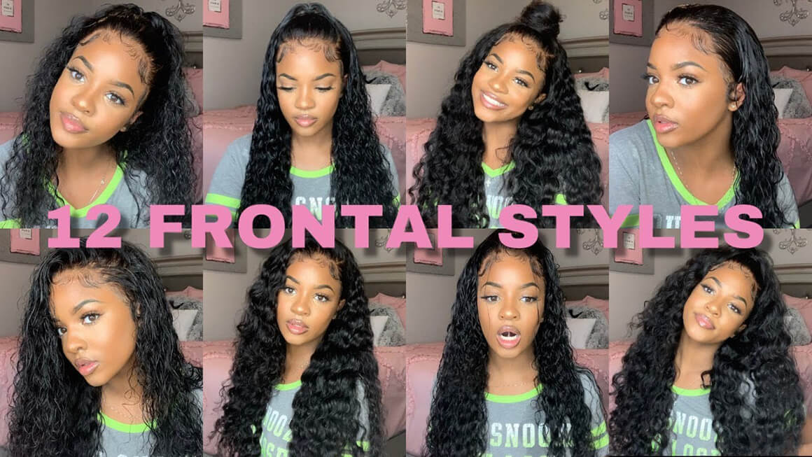 30inch Lace Front Wig Water Wave Hair