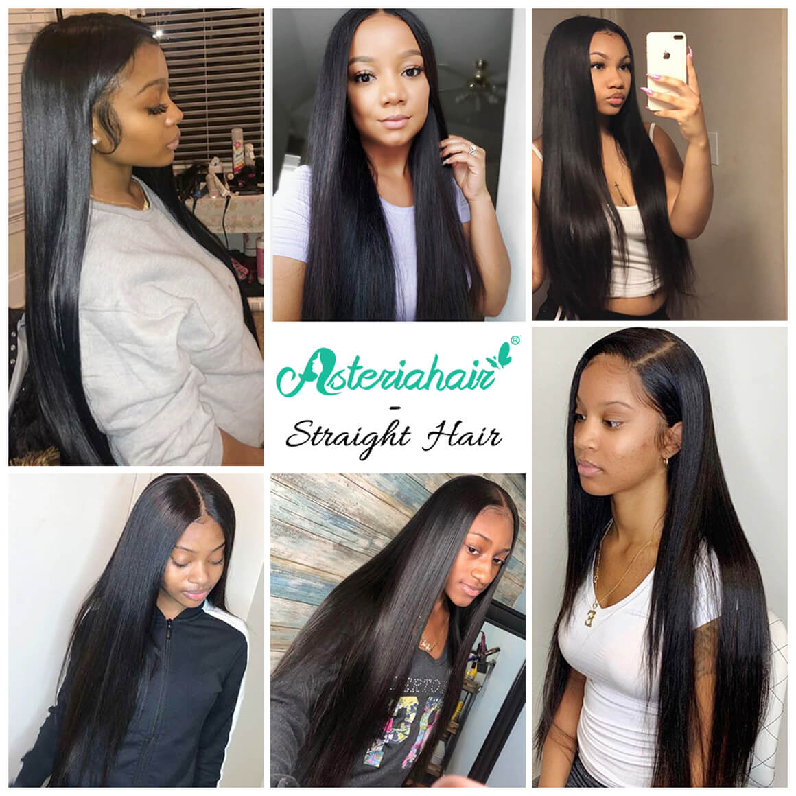 Asteria Hair review-long straight wigs