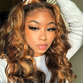 Piano Color Straight Hair Wig